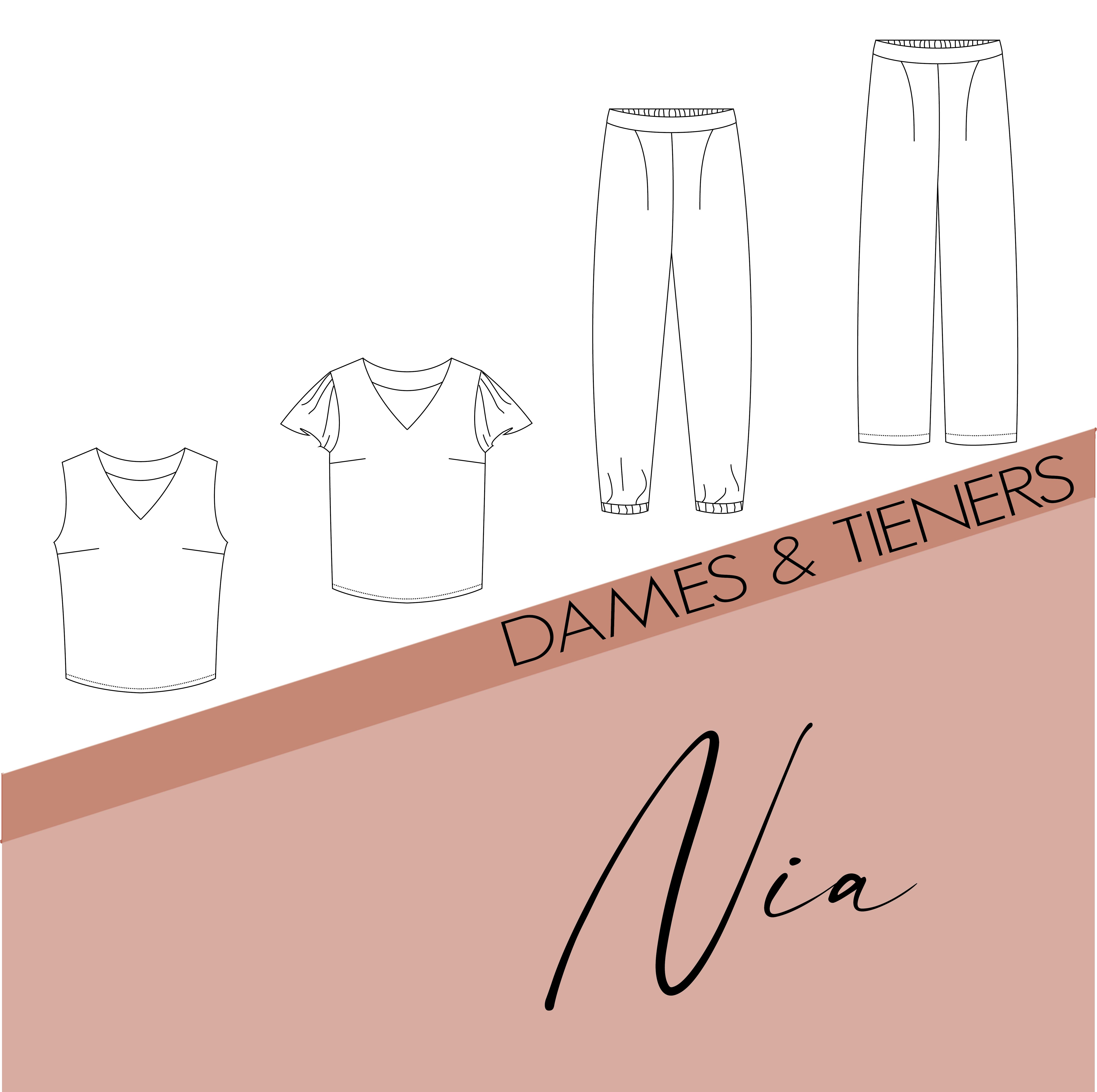 Nia - dames & tieners