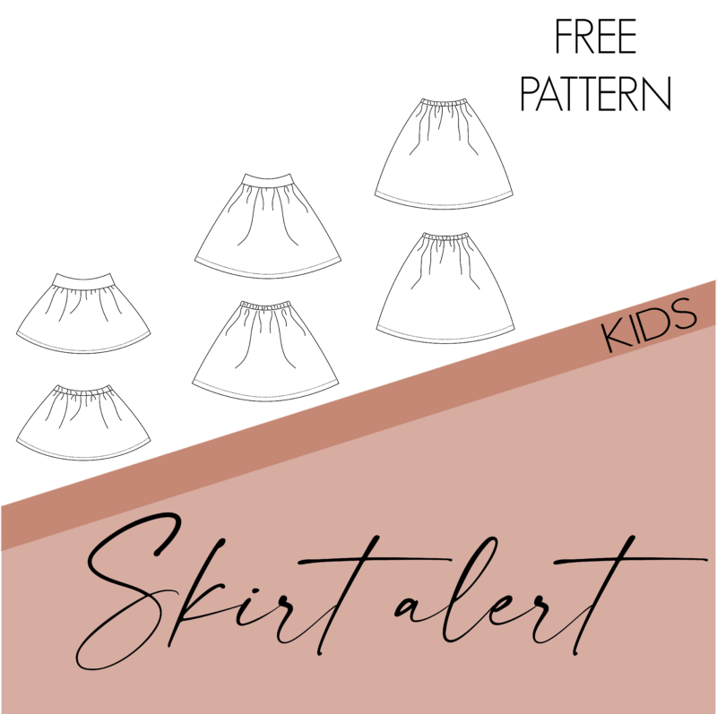 Skirt alert - kids