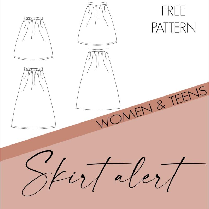 Skirt alert - women and teens