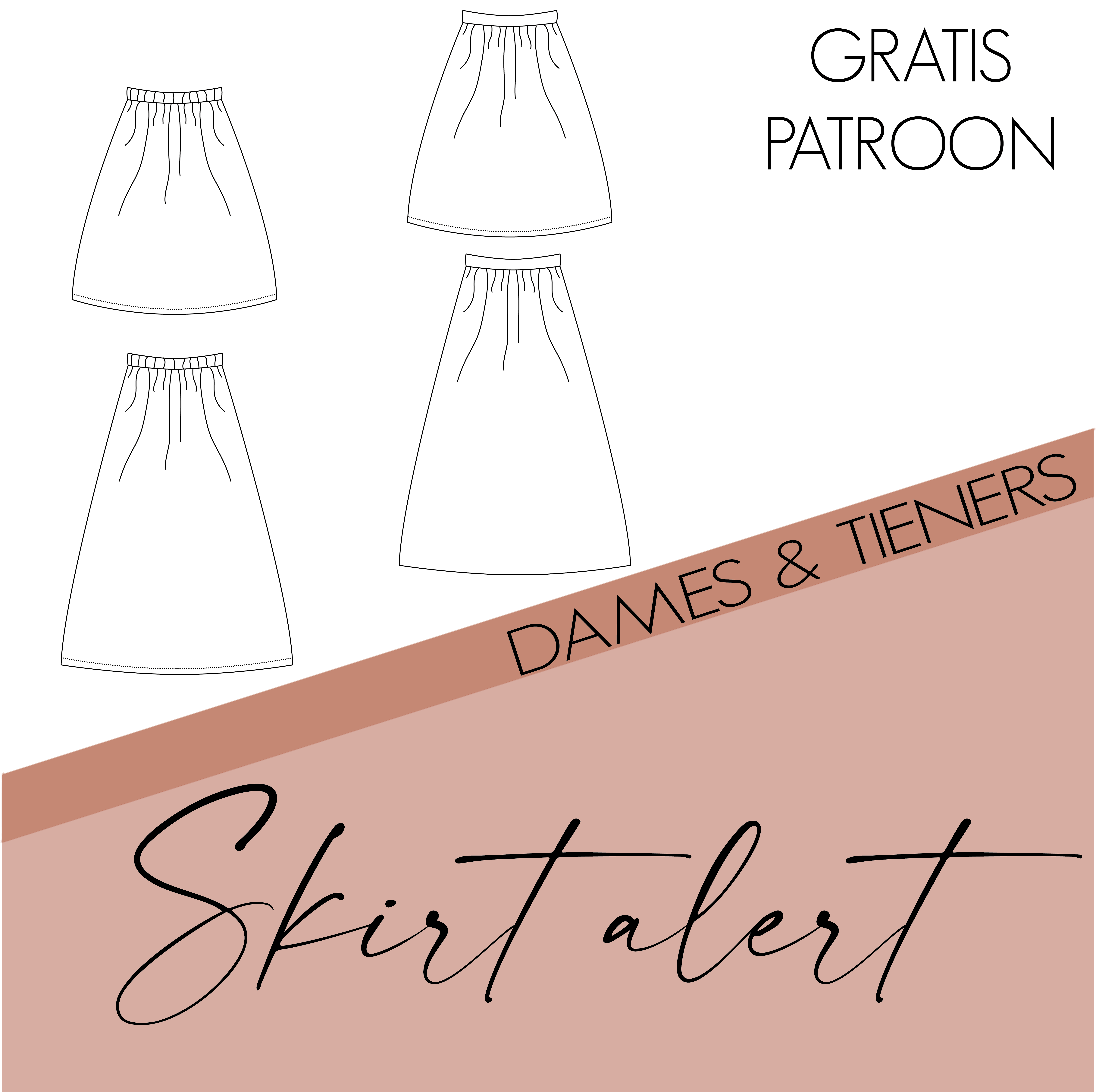 Skirt alert - dames en tieners