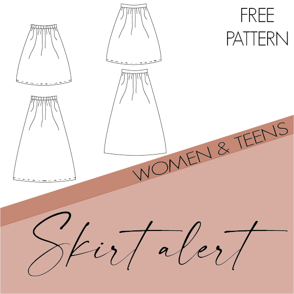 Skirt alert - women and teens